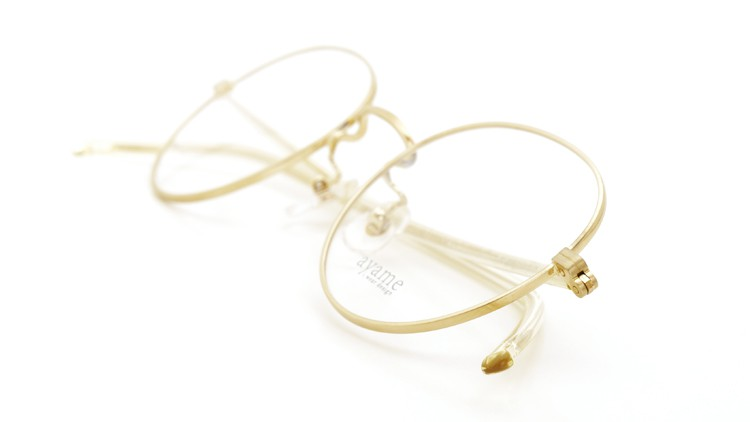 ayame i wear design (アヤメ) メガネ FOCUS metal G 海外限定モデル 10