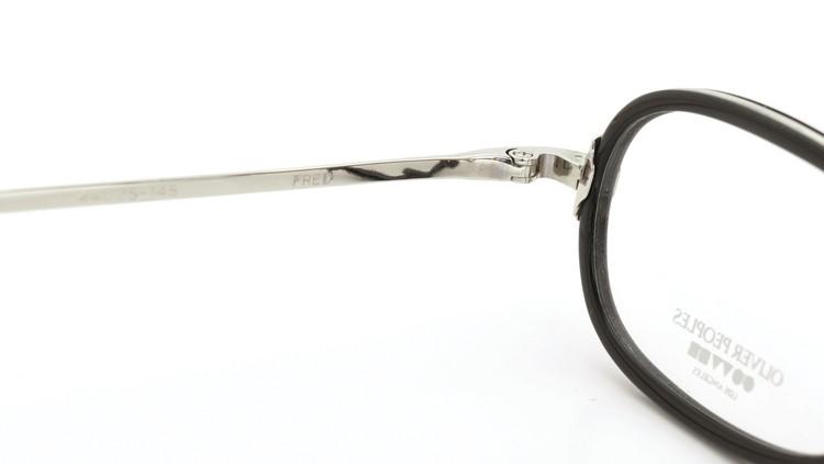 OLIVER PEOPLES (オリバーピープルズ) メガネ FRED フレッド BK/S 9