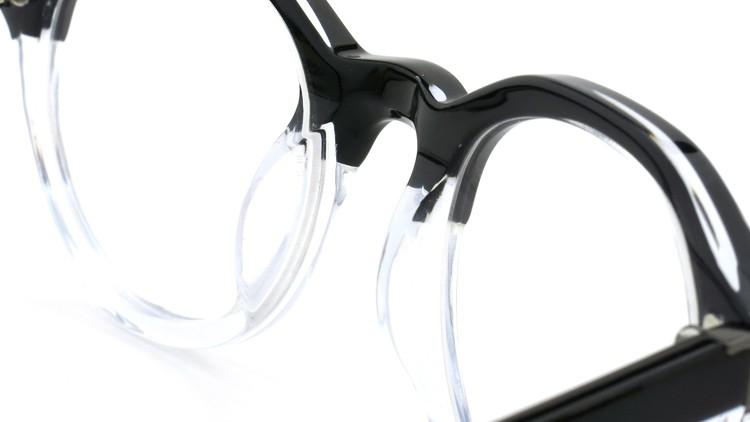 3.1 phillip lim (スリーワン フィリップ リム) メガネ PL/47/4 black-clear 47.5size 8