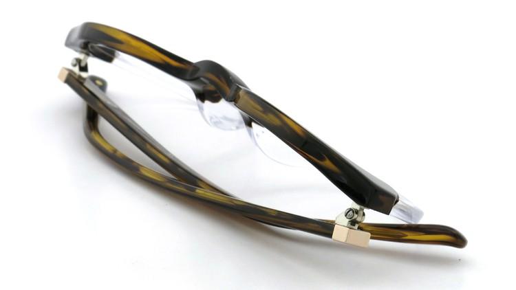 3.1 phillip lim (スリーワン フィリップ リム) メガネ PL/47/5 ダークブラウンデミ-クリア 47.5size 11