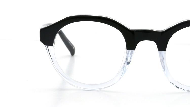 3.1 phillip lim (スリーワン フィリップ リム) メガネ PL/47/4 black-clear 47.5size 14