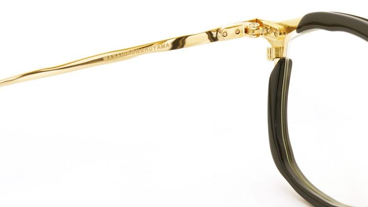 MASAHIROMARUYAMA(マサヒロマルヤマ) メガネ 3rd collection 2013-2014 MM-0011 col.01 BLACK/GOLD  9