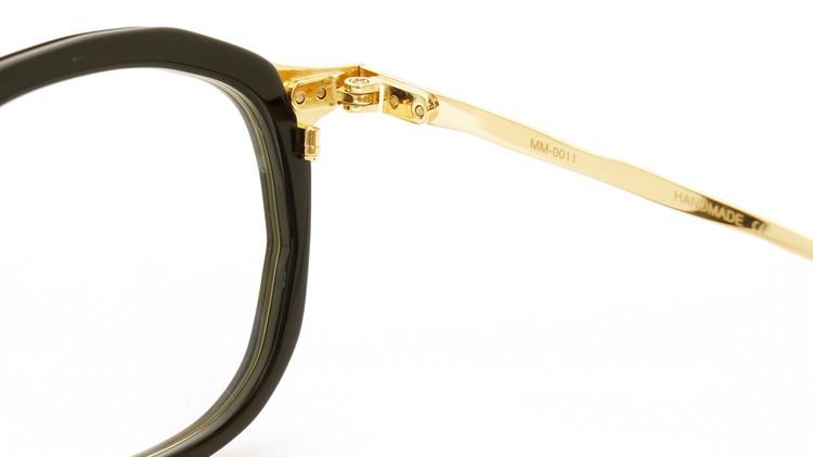 MASAHIROMARUYAMA(マサヒロマルヤマ) メガネ 3rd collection 2013-2014 MM-0011 col.01 BLACK/GOLD  10
