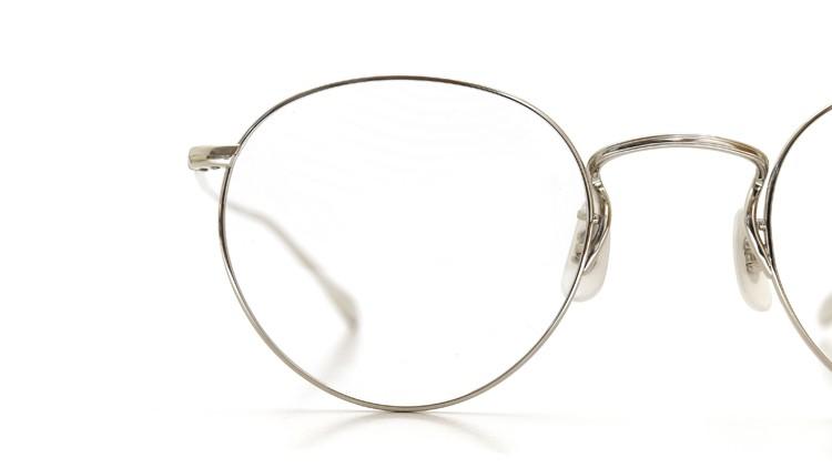 OLIVER PEOPLES (オリバーピープルズ) メガネ Gallaway ギャラウェイ TITANIUM Silver 14