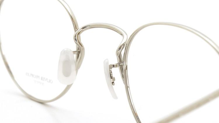 OLIVER PEOPLES (オリバーピープルズ) メガネ Gallaway ギャラウェイ TITANIUM Silver 8