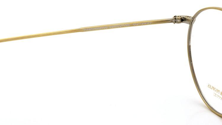 OLIVER PEOPLES (オリバーピープルズ) メガネ Gallaway ギャラウェイ TITANIUM Antique-Gold 9