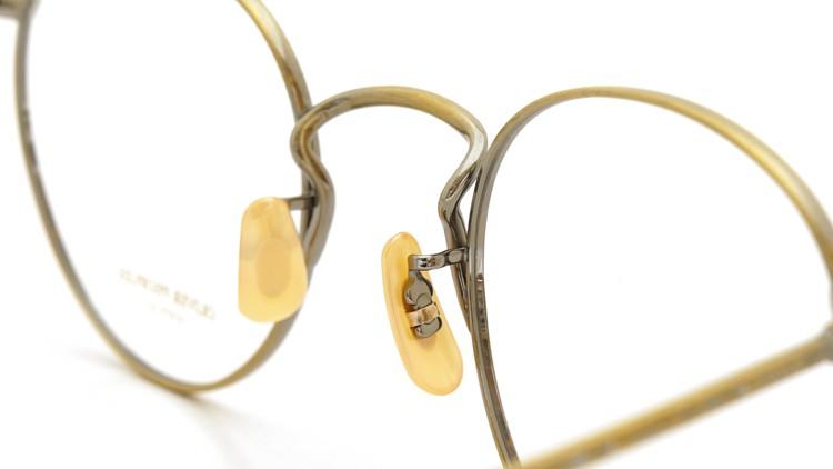 OLIVER PEOPLES (オリバーピープルズ) メガネ Gallaway ギャラウェイ TITANIUM Antique-Gold 8