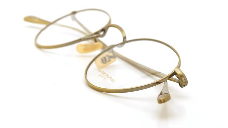 OLIVER PEOPLES (オリバーピープルズ) メガネ Gallaway ギャラウェイ TITANIUM Antique-Gold 12