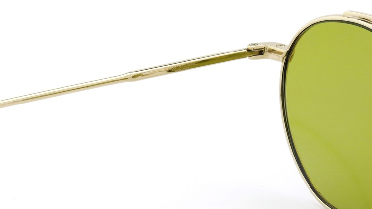 THOM BROWNE.  NEW YORK(トムブラウンニューヨーク)サングラス TB-101 B T 12KGOLD 49size Dirty-Yellow-lense 9