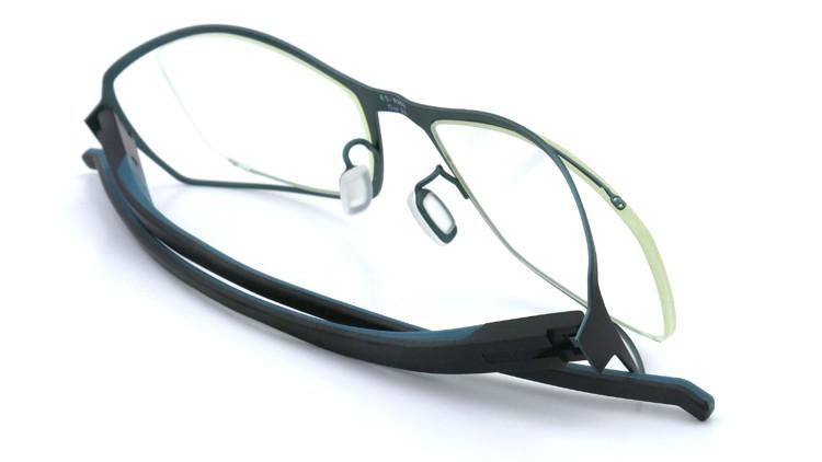 spec espace (スペックエスパス) メガネ ES-6302 ブラック/ダークターコイズブルー 12