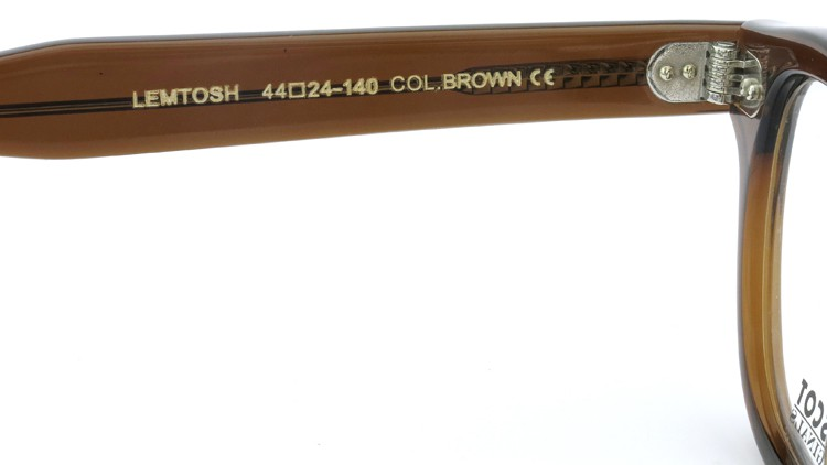 MOSCOT (モスコット) LEMTOSH レムトッシュ Col.BROWN 44size 9