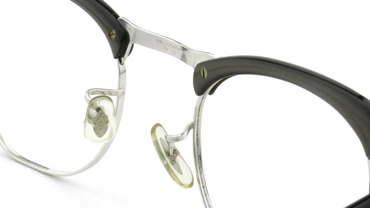 Bausch&Lomb B&L ボシュロム ヴィンテージ メガネ ワイヤー 1/10 12KGF CASTLE-GREY 46-22 8
