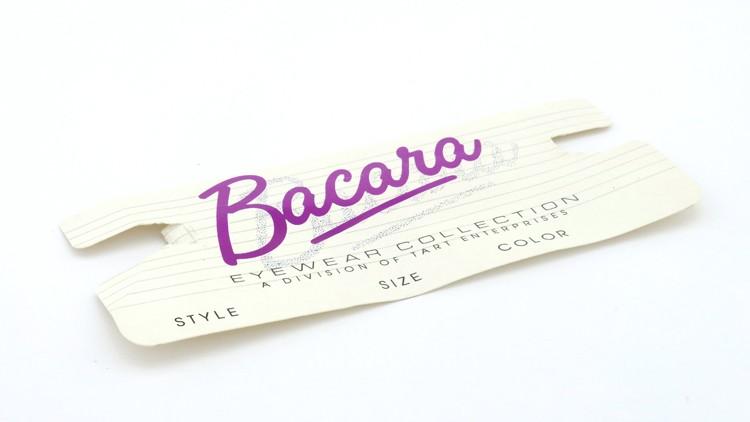 Bacara (TART OPTICAL タートオプティカル) ヴィンテージ メガネ BRYAN ブライアン 46-24 AMBER 13