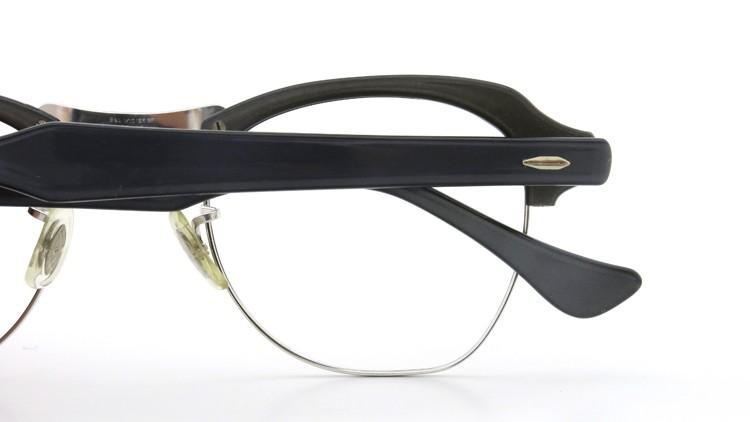 Bausch&Lomb B&L ボシュロム ヴィンテージ メガネ ワイヤー 1/10 12KGF CASTLE-GREY 46-22 13