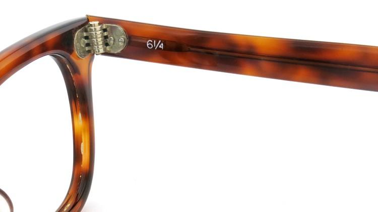 American Optical アメリカンオプチカル (AO)Vintage ヴィンテージ メガネ STADIUM ダイヤ鋲 4568 RF23 TORTOISE 44-24 10