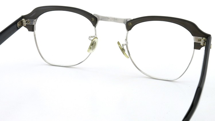 Bausch&Lomb B&L ボシュロム ヴィンテージ メガネ ワイヤー 1/10 12KGF CASTLE-GREY 46-22 7