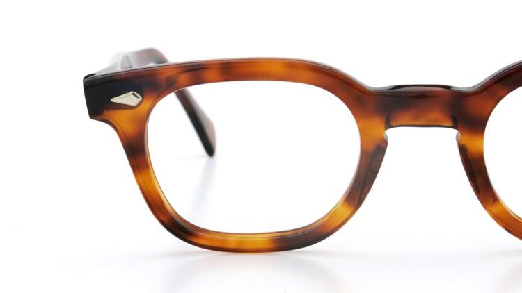 American Optical アメリカンオプチカル (AO)Vintage ヴィンテージ メガネ STADIUM ダイヤ鋲 4568 RF23 TORTOISE 44-24 15