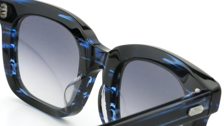 OAMC(オーバーオールマスタークロス)サングラス arc アーク 50size BLUE SASA/BLUE 1/2 8
