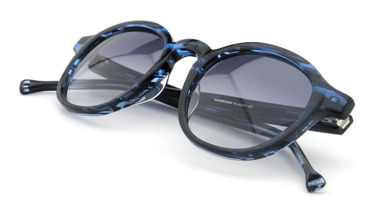 OAMC(オーバーオールマスタークロス)サングラス aero エアロ 48size BLUE SASA/BLUE 1/2 12