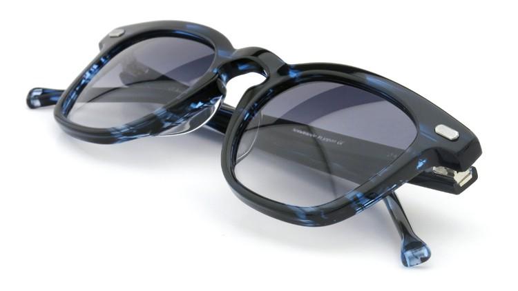 OAMC(オーバーオールマスタークロス)サングラス d-lux d-ルクス 49size BLUE-SASA/BLUE 1/2 12