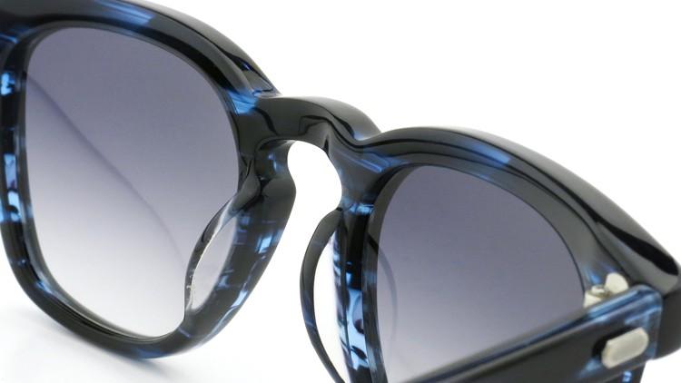 OAMC(オーバーオールマスタークロス)サングラス d-lux d-ルクス 49size BLUE-SASA/BLUE 1/2 8