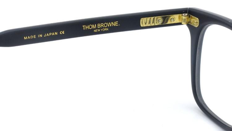 トムブラウン THOM BROWNE メガネ TB-402-C Matte Navy 52size 9