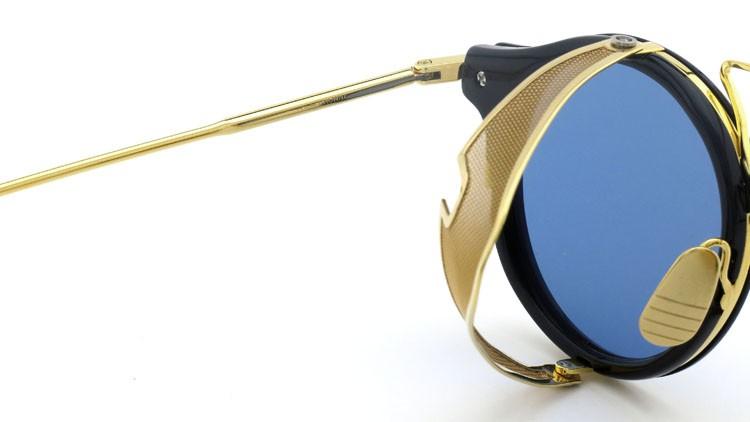 THOM BROWNE.  NEWYORK(トムブラウンニューヨーク) 2014 F/W サングラス TB-804-B NVY-18kGLD 45size Dark-blue-Gold-flash 10