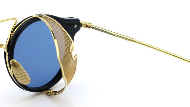 THOM BROWNE.  NEWYORK(トムブラウンニューヨーク) 2014 F/W サングラス TB-804-B NVY-18kGLD 45size Dark-blue-Gold-flash 11