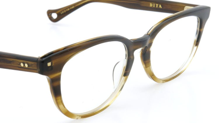 DITA  (ディータ) メガネ AMORA アモラ DRX-3028-B-BRN 50size 6