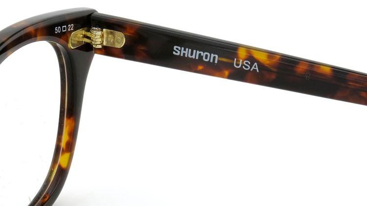 SHURON (シュロン) メガネ FREEWAY フリーウェイ Demi-Amber 50-22 10