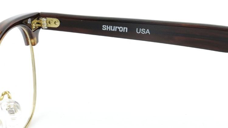 SHURON (シュロン) メガネ RONSIR ロンサー ZYL Tortoise/Gold 48-22 10