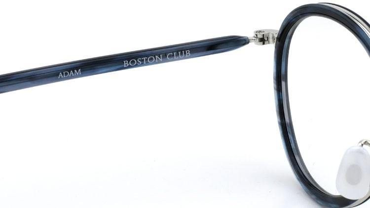 BOSTON CLUB - ボストンクラブ  メガネ ADAM col.4 ブルーササ/シルバー 9