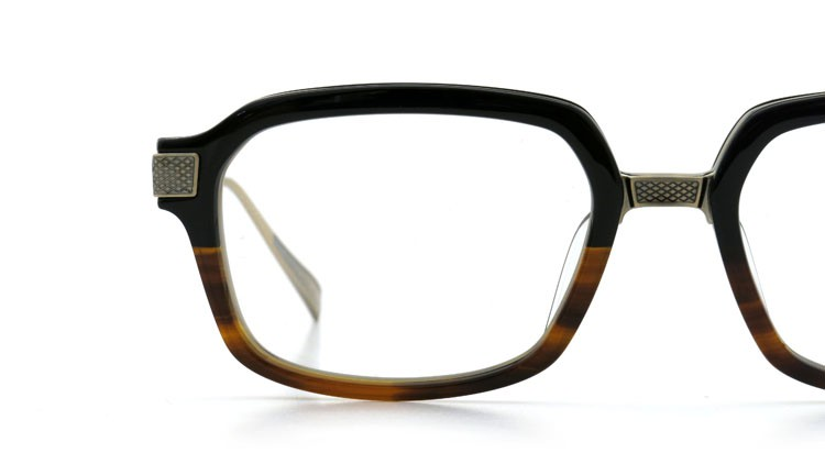 DITA (ディータ) メガネ LEXINGTON レキシントン DRX-2033-E Black-Tortoise-Fade Brushed-12K-Gold 52size 15