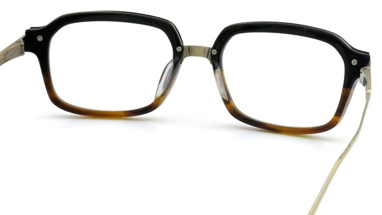 DITA (ディータ) メガネ LEXINGTON レキシントン DRX-2033-E Black-Tortoise-Fade Brushed-12K-Gold 52size 6