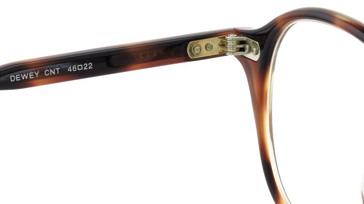 GLCO (ジーエルシーオー) 2014年秋冬 最新作メガネ DEWEY デューイ 46size Cognac Tortoise 9