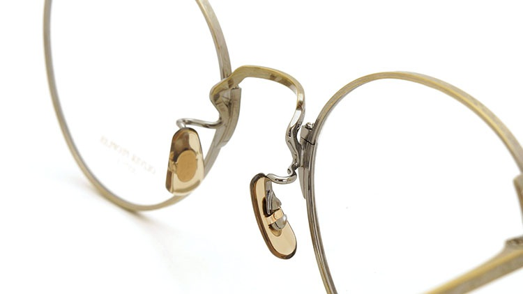 OLIVER PEOPLES(オリバーピープルズ)  2014年秋冬 最新作メガネ+クリップオンセット OP-10T AG 23