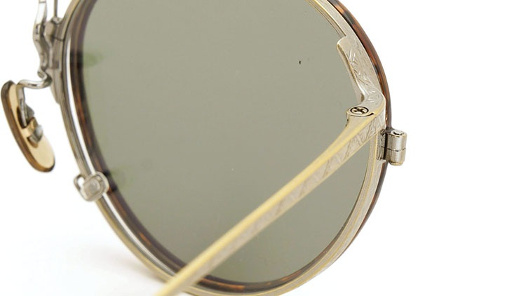 OLIVER PEOPLES(オリバーピープルズ)  2014年秋冬 最新作メガネ+クリップオンセット OP-10T AG 14