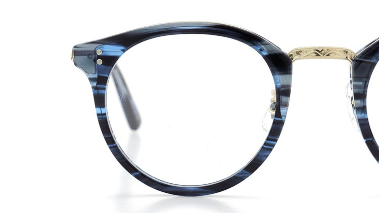 OLIVER PEOPLES(オリバーピープルズ)  メガネ Los Angeles Collection Reeves-P リーヴス DNMG 15