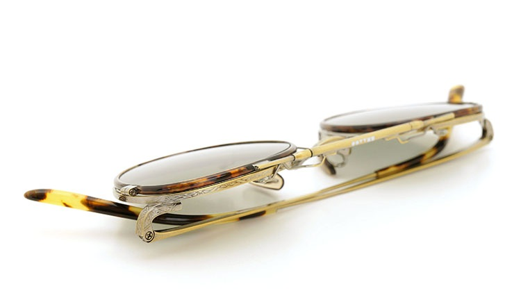 OLIVER PEOPLES(オリバーピープルズ)  2014年秋冬 最新作メガネ+クリップオンセット OP-10T AG 19