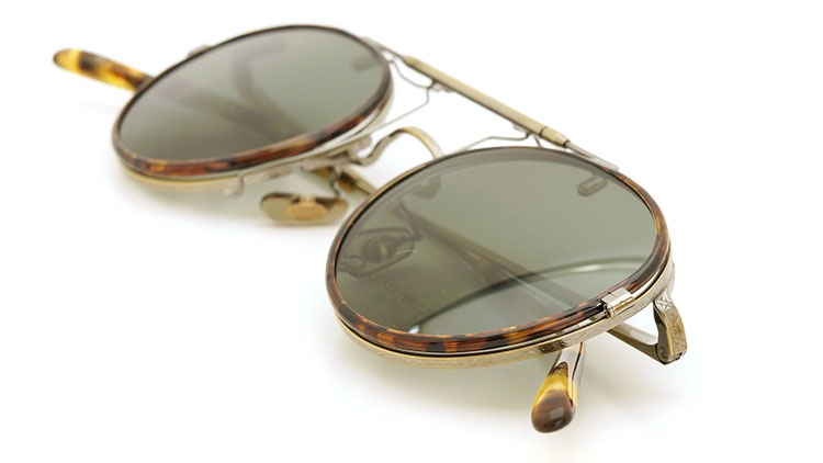 OLIVER PEOPLES(オリバーピープルズ)  2014年秋冬 最新作メガネ+クリップオンセット OP-10T AG 18