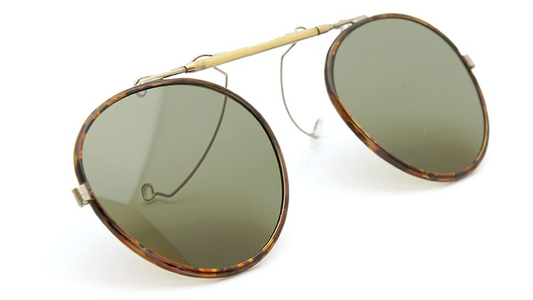 OLIVER PEOPLES(オリバーピープルズ)  2014年秋冬 最新作メガネ+クリップオンセット OP-10T AG 29