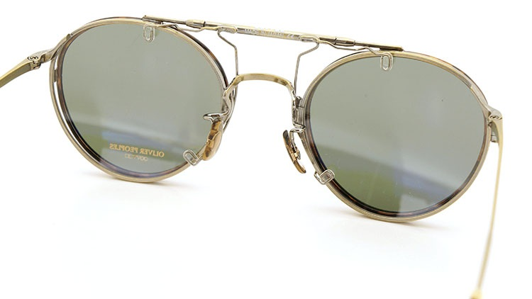 OLIVER PEOPLES(オリバーピープルズ)  2014年秋冬 最新作メガネ+クリップオンセット OP-10T AG 12