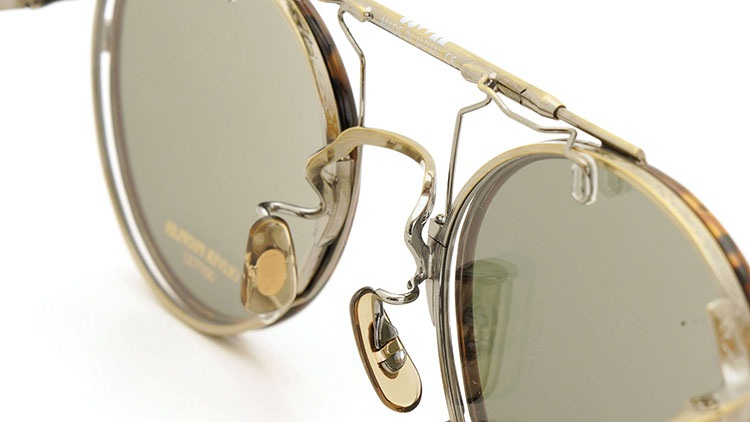 OLIVER PEOPLES(オリバーピープルズ)  2014年秋冬 最新作メガネ+クリップオンセット OP-10T AG 13