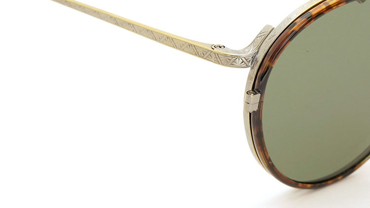 OLIVER PEOPLES(オリバーピープルズ)  2014年秋冬 最新作メガネ+クリップオンセット OP-10T AG 7