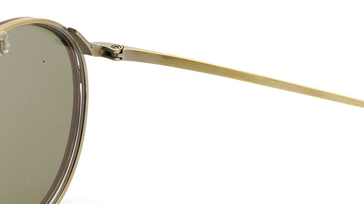 OLIVER PEOPLES(オリバーピープルズ)  2014年秋冬 最新作メガネ+クリップオンセット OP-10T AG 16