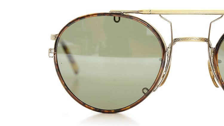 OLIVER PEOPLES(オリバーピープルズ)  2014年秋冬 最新作メガネ+クリップオンセット OP-10T AG 33