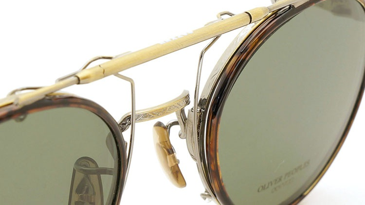 OLIVER PEOPLES(オリバーピープルズ)  2014年秋冬 最新作メガネ+クリップオンセット OP-10T AG 10