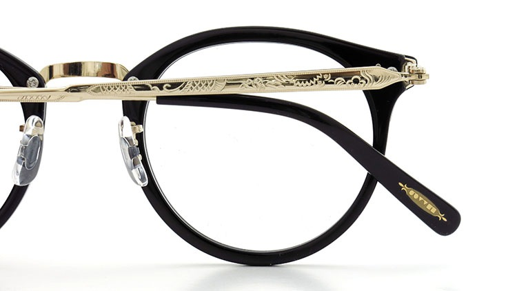 OLIVER PEOPLES(オリバーピープルズ)  メガネ Los Angeles Collection Reeves-P リーヴス BKG 14
