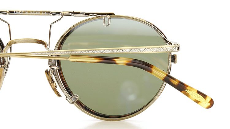 OLIVER PEOPLES(オリバーピープルズ)  2014年秋冬 最新作メガネ+クリップオンセット OP-10T AG 32