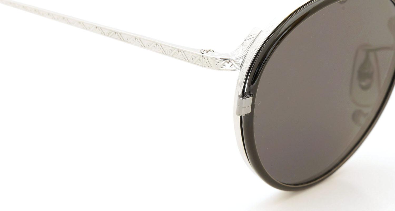 オリバーピープルズ OLIVER PEOPLES 2014年秋冬 最新作メガネ+クリップオンセット OP-10T シルバー 7